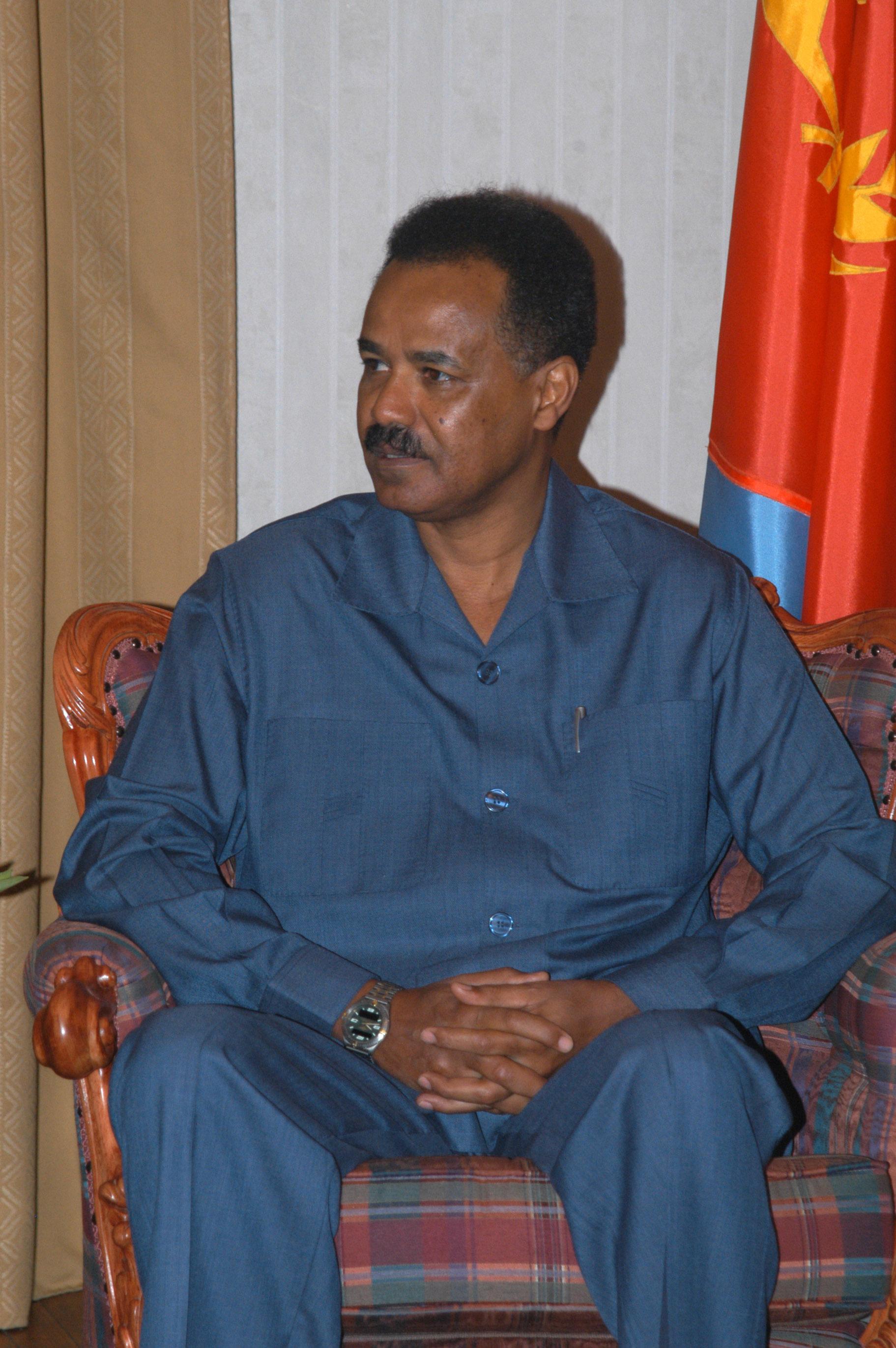 Isiaya Afewerki, Präsident Eritrea