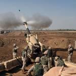 Ein amerikanisches Militär-Camp bei Falludscha | Bild (Ausschnitt): © Lance Corporal Samantha L. Jones [Public domain] - Wikimedia Commons