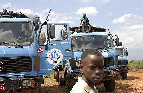 Flüchtlinge der Operation der Vereinten Nationen