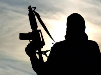 """Der Einfluss radikaler Islamisten reicht weit - von Somalia nach Mosambik (Symbolbild)    Bild: """"Silhouette of soldier"""" © (c) Zabelin  [Royalty Free]  - Dreamstime"""