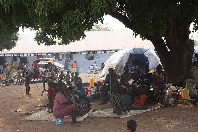 Südsudanesische Flüchtlinge in Uganda
