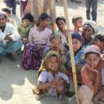 Rohingya-Flüchtlinge Vertriebene Rohingya aus Rakhaing. | Bild (Ausschnitt): © Foreign and Commonwealth Office [OGL] - Wikimedia Commons