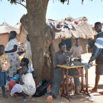 Lebuje Flüchtlingscamp in Uganda Das Lebuje Flüchtlingscamp im Norden Ugandas beherbergt zahlreiche Menschen aus dem Sudan | Bild (Ausschnitt): © US Government [Public Domain] - Wikimedia Commons