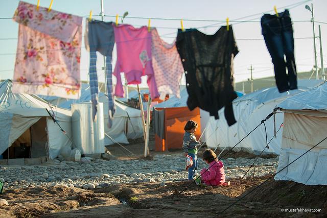 Syrisches Flüchtlingscamp
