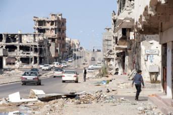 Die Stadt Sirte in Libyen liegt in Schutt und Asche.  |  Bild: © EU Civil Protection and Humanitarian Aid Op [CC BY-ND 2.0]  - flickr