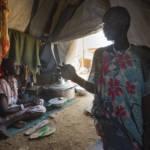 Flüchtlinge im Südsudan Im Südsudan sind rund 4,5 Millionen Menschen auf der Flucht- knapp 400.000 verloren bereits ihr Leben | Bild (Ausschnitt): © Oxfam East Africa [CC BY 2.0] - flickr