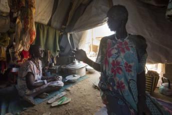 Flüchtlinge im Südsudan Im Südsudan sind rund 4,5 Millionen Menschen auf der Flucht- knapp 400.000 verloren bereits ihr Leben    Bild: © Oxfam East Africa [CC BY 2.0]  - flickr
