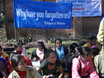 Die Unterdrückung durch die Regierung zwang jeden 6. Bhutanesen zur Flucht- meist nach Nepal    Bild: © ISN [CC BY-NC-ND 2.0]  - flickr