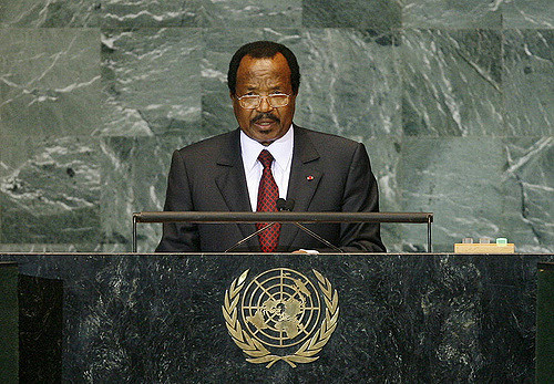Paul Biya, Präsident von Kamerun