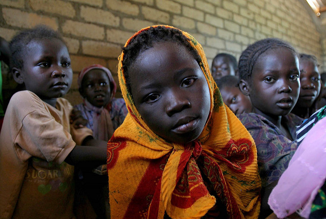 Kinder aus Zentralafrika