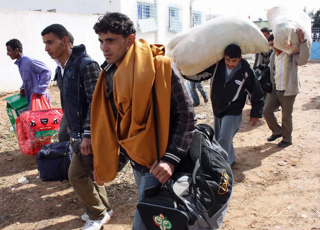 Fleeing death in Libya