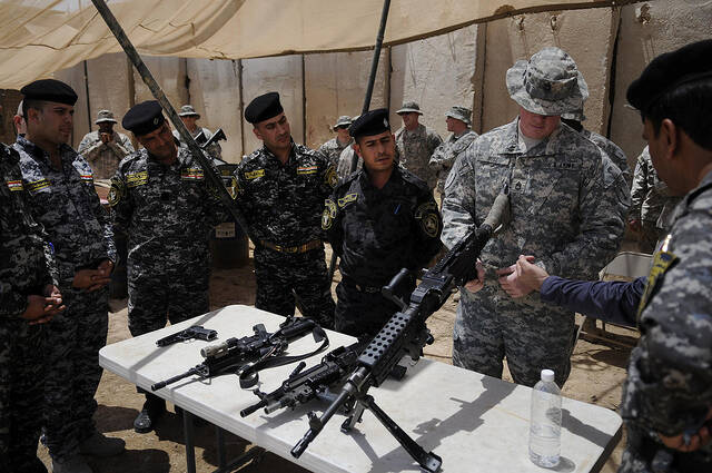 Waffen Die USA exportieren ihre Waffen mit Abstand am meisten in Konfliktregionen |  Bild: © United States Forces Iraq [CC BY-NC-ND 2.0]  - flickr