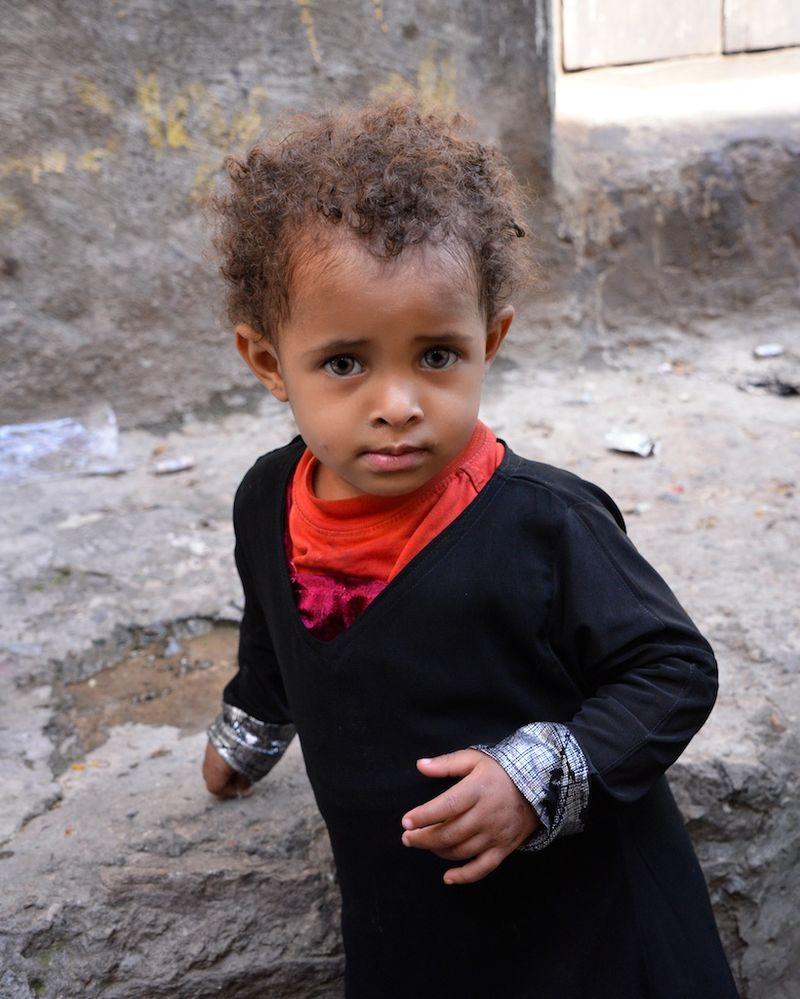 Jemen Kind Krise