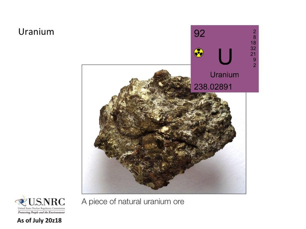 Natürliches Uran