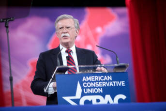Nationaler Sicherheitsberater John Bolton