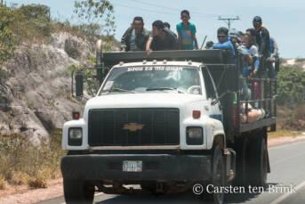 Venezolaner auf der Flucht an der Grenze zu Brasilien