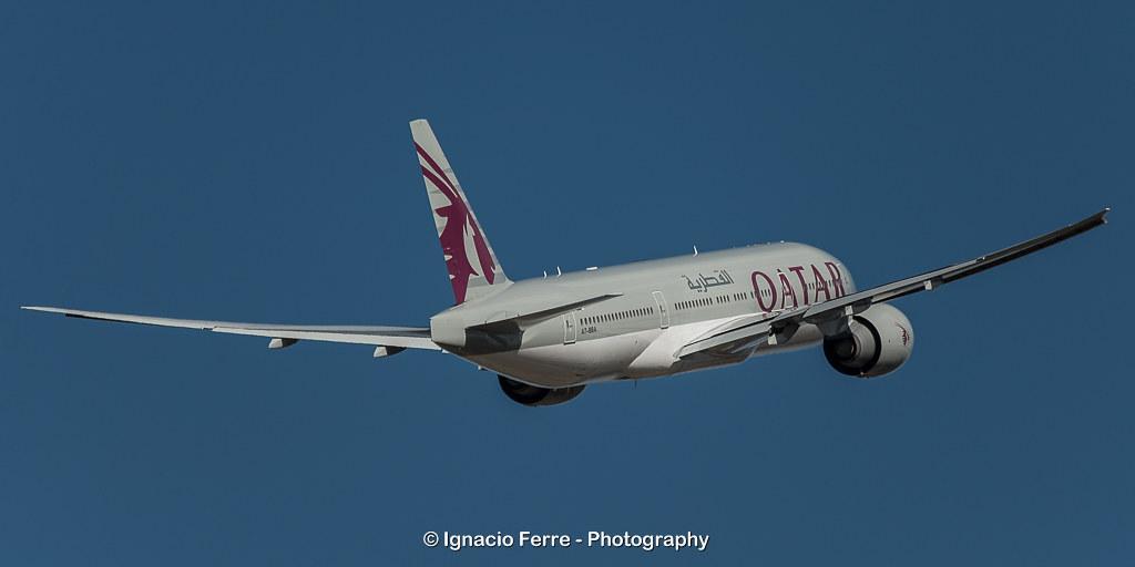 Im Rahmen des Katar-Boykotts wurden Qatar Airways die Überflugrechte über saudischem und emiratischem Territorium entzogen
