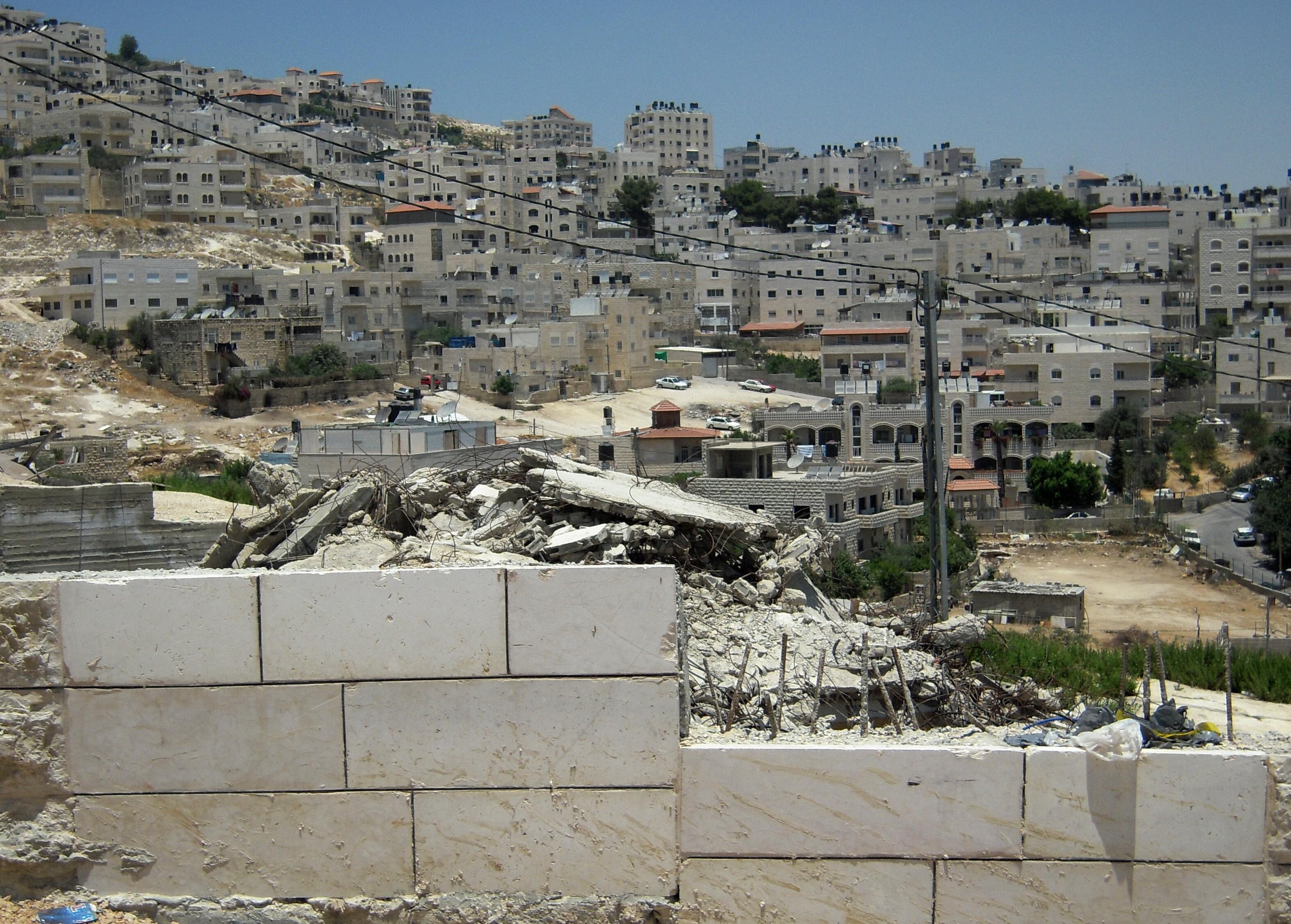 Oft zerstört die israelische Armee Häuser von Palästinensern in Ostjerusalem und zwingt die Bevölkerung damit zum Rückzug aus arabischen Stadtteilen