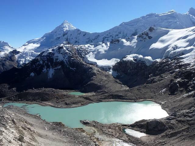 Cordillera Blanca Peru Tocllaraju Berg im peruanischen Cordillera Blanca ist vom Klimawandel bedroht  |  Bild: © twiga269 [(CC BY-NC 2.0) ]  - Flickr