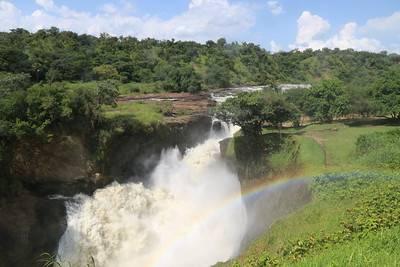 Ein Wasserfall im Nationalpark Murchison Falls |  Bild: © Travel Aficionado [(CC BY-NC 2.0)]  - flickr