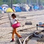 Flüchtlingslager Idomeni: Zeitweise lebten hier 13.000 Asylsuchende unter katastrophalen Bedingungen. | Bild (Ausschnitt): © Mario Fornasari [ (CC BY 2.0)] - flickr