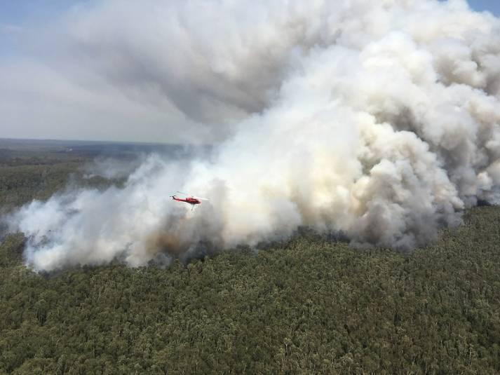 Während die Buschfeuer in Australien außer Kontrolle geraten, soll dort eine der größten Kohleminen der Welt gebaut werden |  Bild: © Flickr [CC BY 2.0]  - Beyond Coal & Gas Image Library